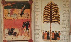 Bilder aus der Handschrift des Beatus von Liebana