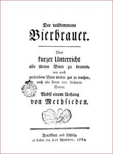 Auch im 18. Jahrhundert war Bier ein populäres Getränk mit geringem sozialen Prestige