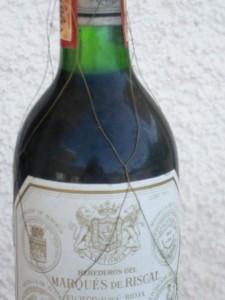 """ein feiner Rioja-Wein im """"alambrado"""""""