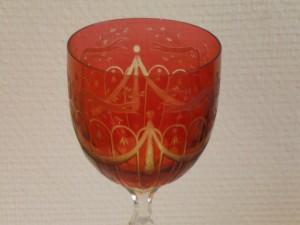 Kelchglas aus dem 19. Jhrh