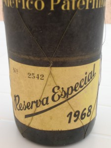 "Paternina Gran Reserva ""Reserva Especial"" 1968"