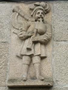 Die gaita, der Dudelsack, ein galicisches Instrument keltischer Herkunft