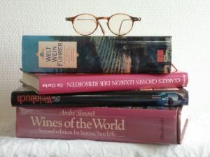 Weinliteratur: neben Zeitungen und Zeitschriften eine unerschöpfliche Quelle von Trinkempfehlungen