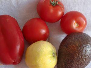 Mediterranes Gemüse mit Zitrone