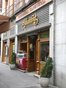 Café Alhambra an Granadas Bib-Rambla-Platz