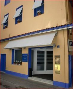"Das Restaurant  ""Sant Pau"" von Carme Ruscalleda und Toni Balam (3 Michelin-Sterne) in Sant Pol de Mar"