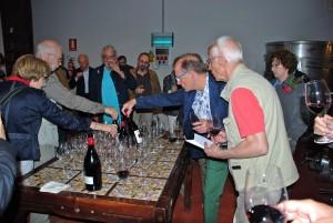 Der Höhepunkt bei Weinreisen: die Probe in der Kellerei