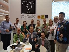 Das Team am Stand der DOP Granada auf der Fenavin 2013