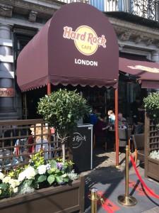 Das Hard Rock Cafe in London