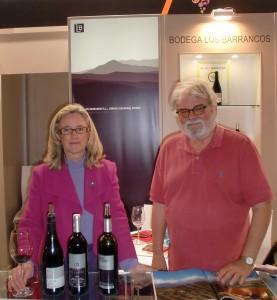 Isabel del Olmo & Peter Hilgard auf der ProWein 2012