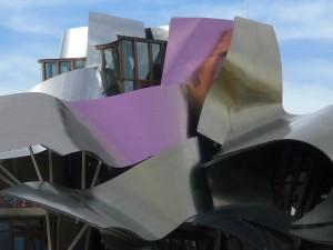 Neue Architektur bei Marqués de Riscal, Elciego