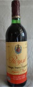 Ein absoluter Rioja-Klassiker: Royal Tête de Cuvée 1970 der Bodegas Franco-Españols
