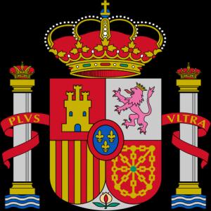Das offizielle spanische Staatswappen