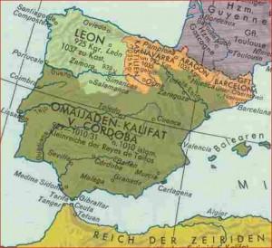 Spanien um 1000 n. Chr. Im Kalifat von Cordoba gab es - trotz der Vorschriften im Koran - eine ausgeprägte Weinkultur.