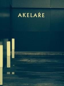 Der Eingang zum Akelare