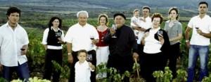 """Die Familie Pablo in Almonacid de la Sierra kümmert sich um die Garnacha-Variante """"Vadillo"""""""